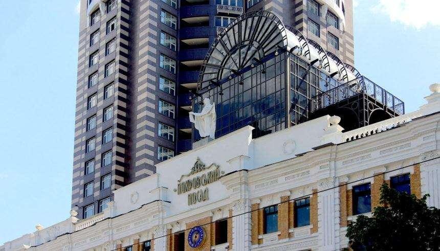 The unique facade